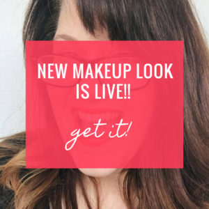 New Makeup Look is Live – Wonderful Wednesdays