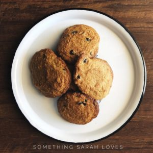 Grain Free Chocolate Chip Cookies – Lower Carb